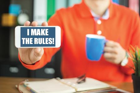 i-make-the-rules